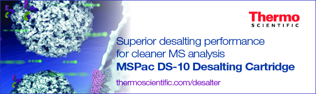 MSPac DS-10 Desalter Cartridge